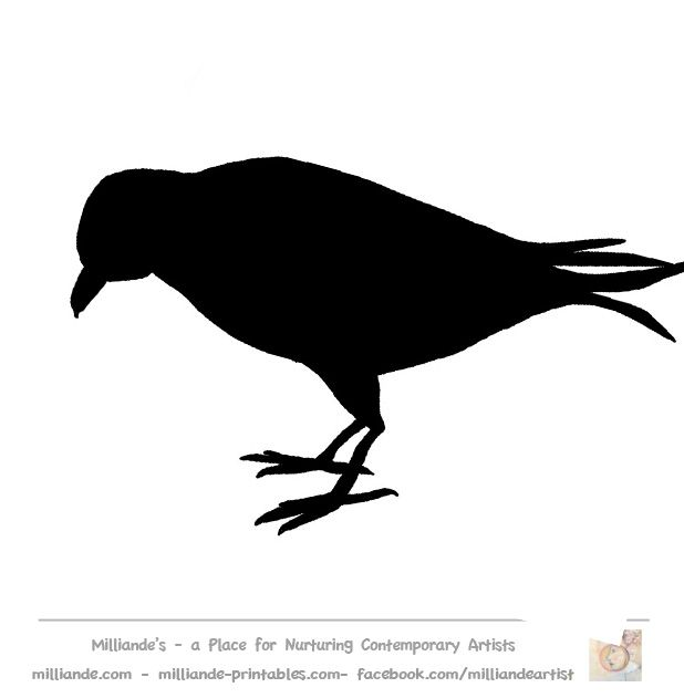 618x631 Parrot Template Bird Window Silhouette Pistol Action Popular