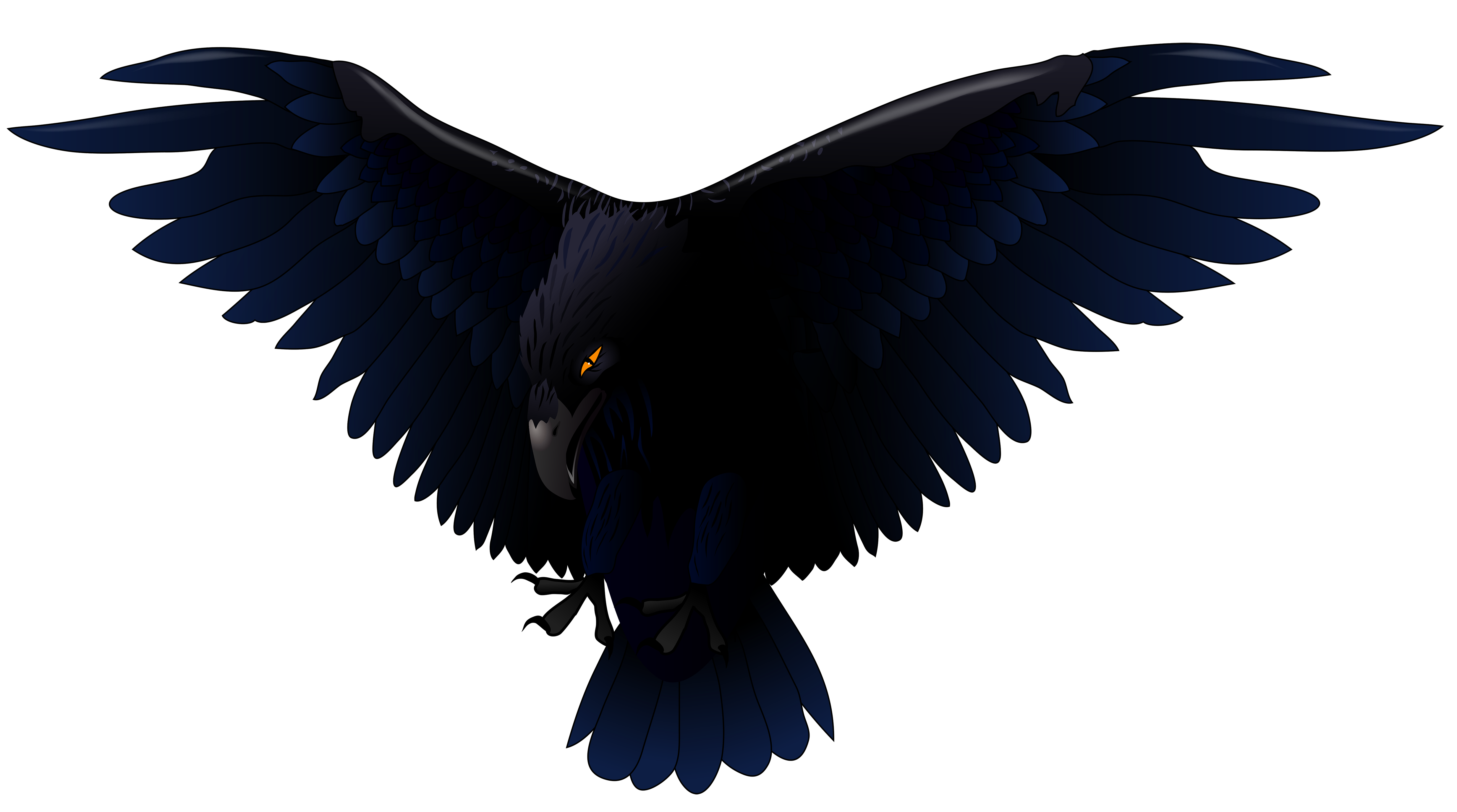 4928x2748 Scary Raven Png Vector Clipartu200b Gallery Yopriceville