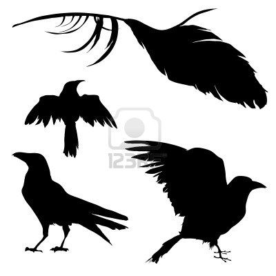 400x400 Raven Silhouette Tattoos I Love Ravens
