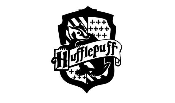 570x334 Hufflepuff Crest (Harry Potter) Decal Harry Potter, Cricut And Etsy
