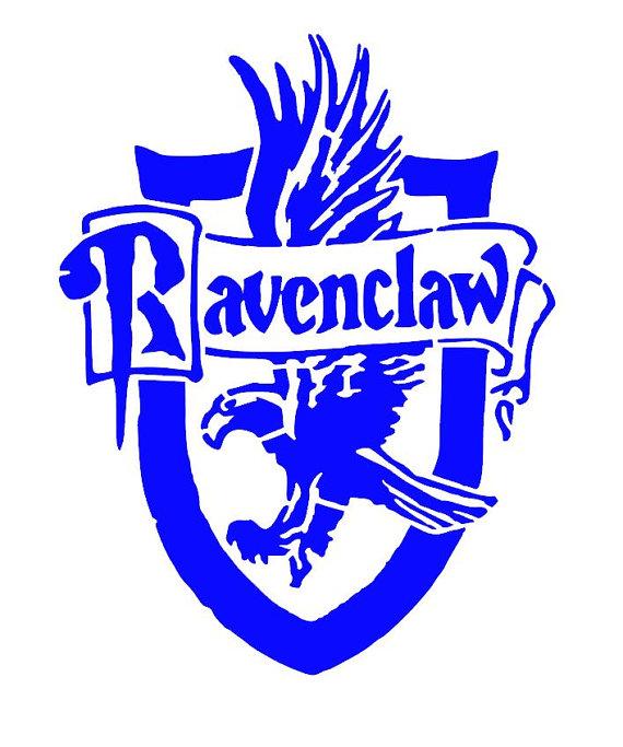 570x683 Harry Potter Ravenclaw House Crest Vinyl Decalumper Sticker