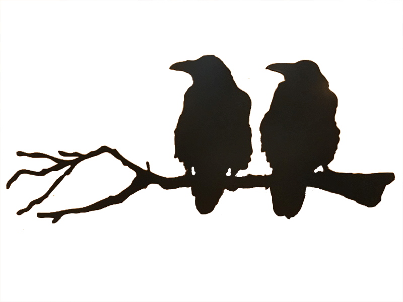 800x600 Ravens On A Branch The Cuckoo's Nest