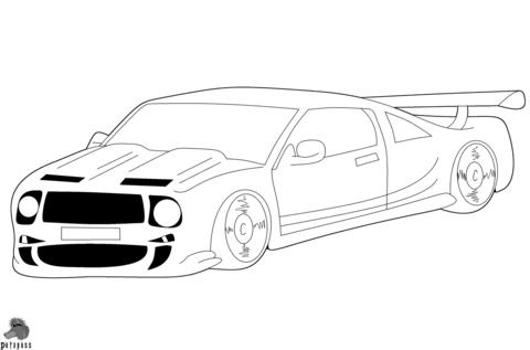 480x317 Race Car Coloring Page Free Printable Coloring Pages