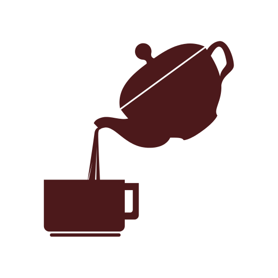 550x550 Coffee Cup And Kettle Silhouette