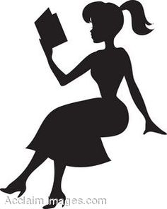 236x296 Reading Clipart Image Pretty Young Woman Reading A Book