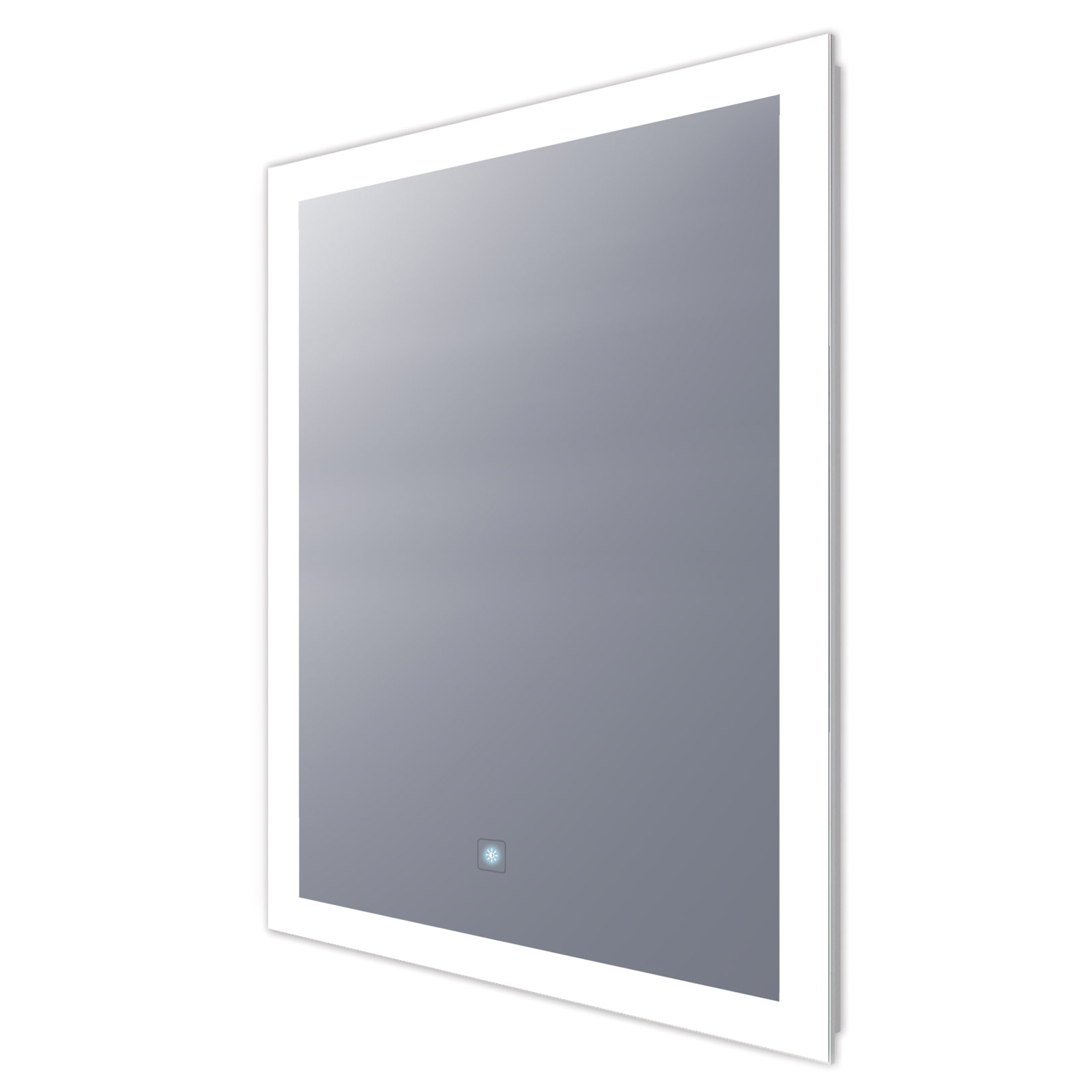 1618x1618 Rectangle Lighted Mirror With Keen Dimming By Electric Mirror