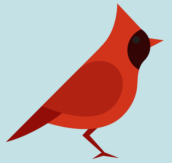 600x567 How To Create A Seamless Bird Pattern With Retro Touch In Illustrator