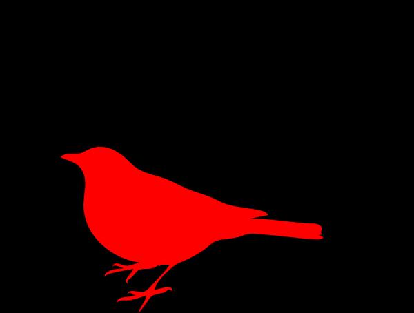 600x454 Bird Silhouette Clip Art