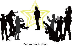300x193 Red Carpet Paparazzi Vector Clip Art Illustrations. 103 Red Carpet