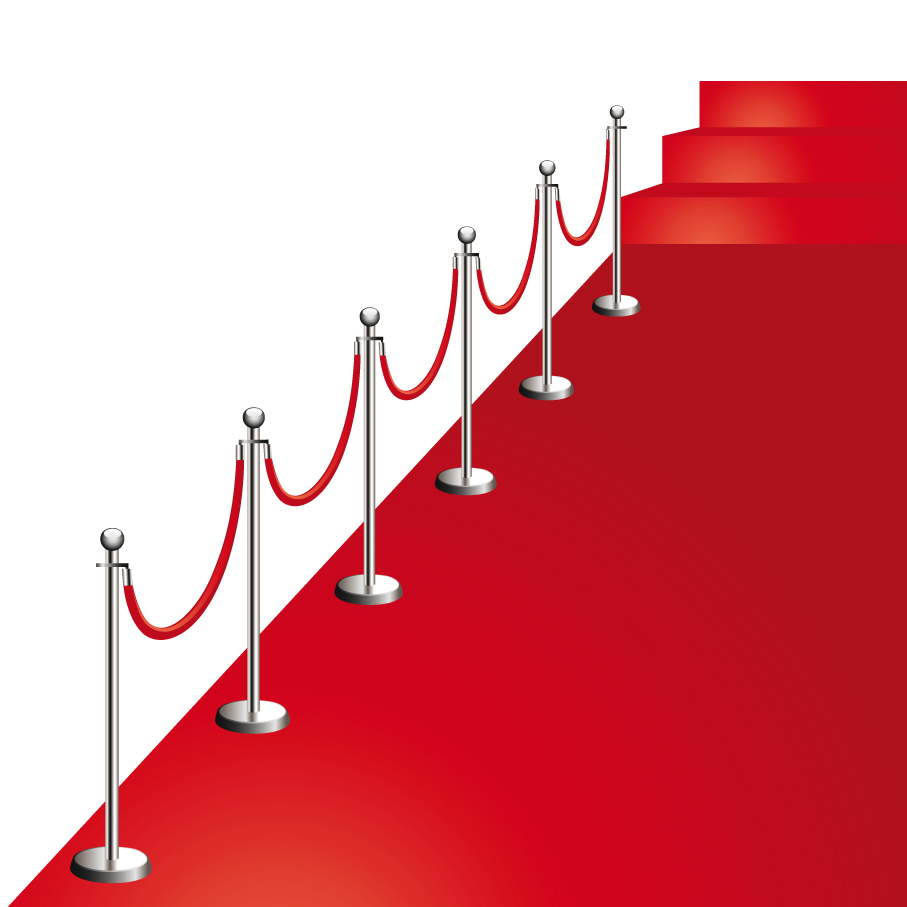 907x907 Beautiful Red Carpet Vector Free Vector 4vector