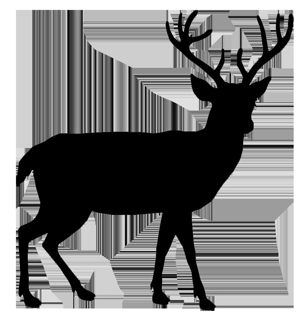 red deer silhouette at getdrawings com free for personal use red rh getdrawings com deer head silhouette clip art deer scene silhouette clip art