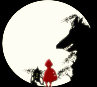 Red Riding Hood Silhouette