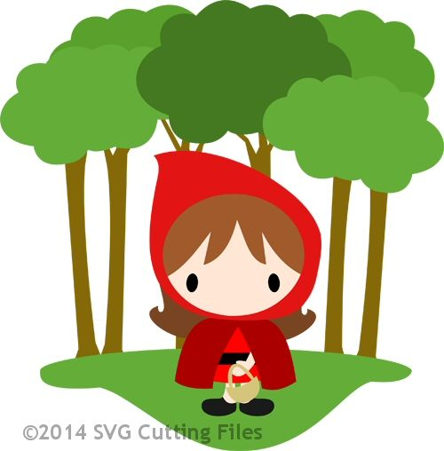 500x508 Little Red Riding Hood Card Red Riding Hood