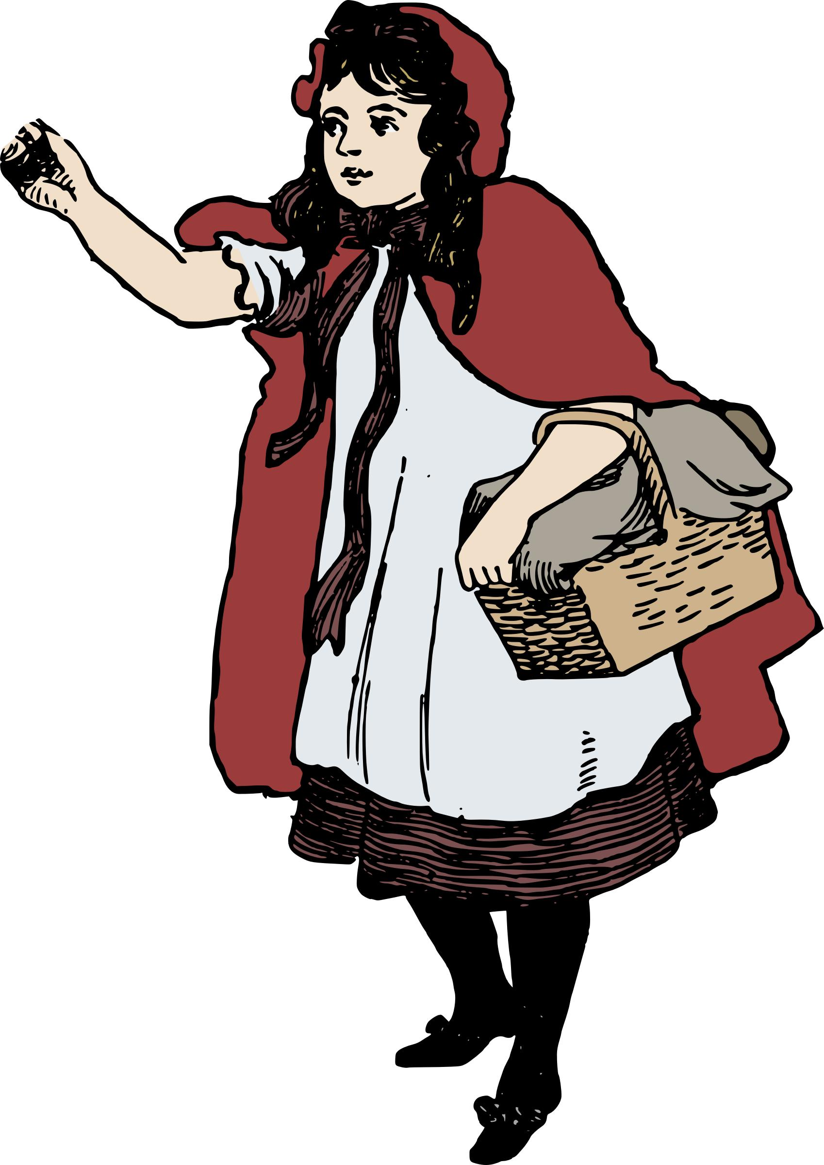 1698x2400 Little Red Riding Hood Against Fascism Icons Png