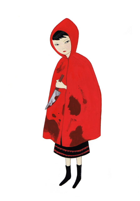 447x640 Nora Aoyagi Blog Archive Little Red Riding Hood