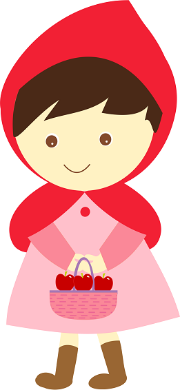 261x566 Petit Chaperon Rouge Little Red Rinding Hood Princess