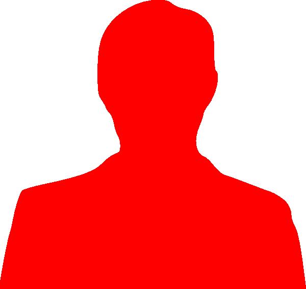600x568 Red Silhouette Clip Art