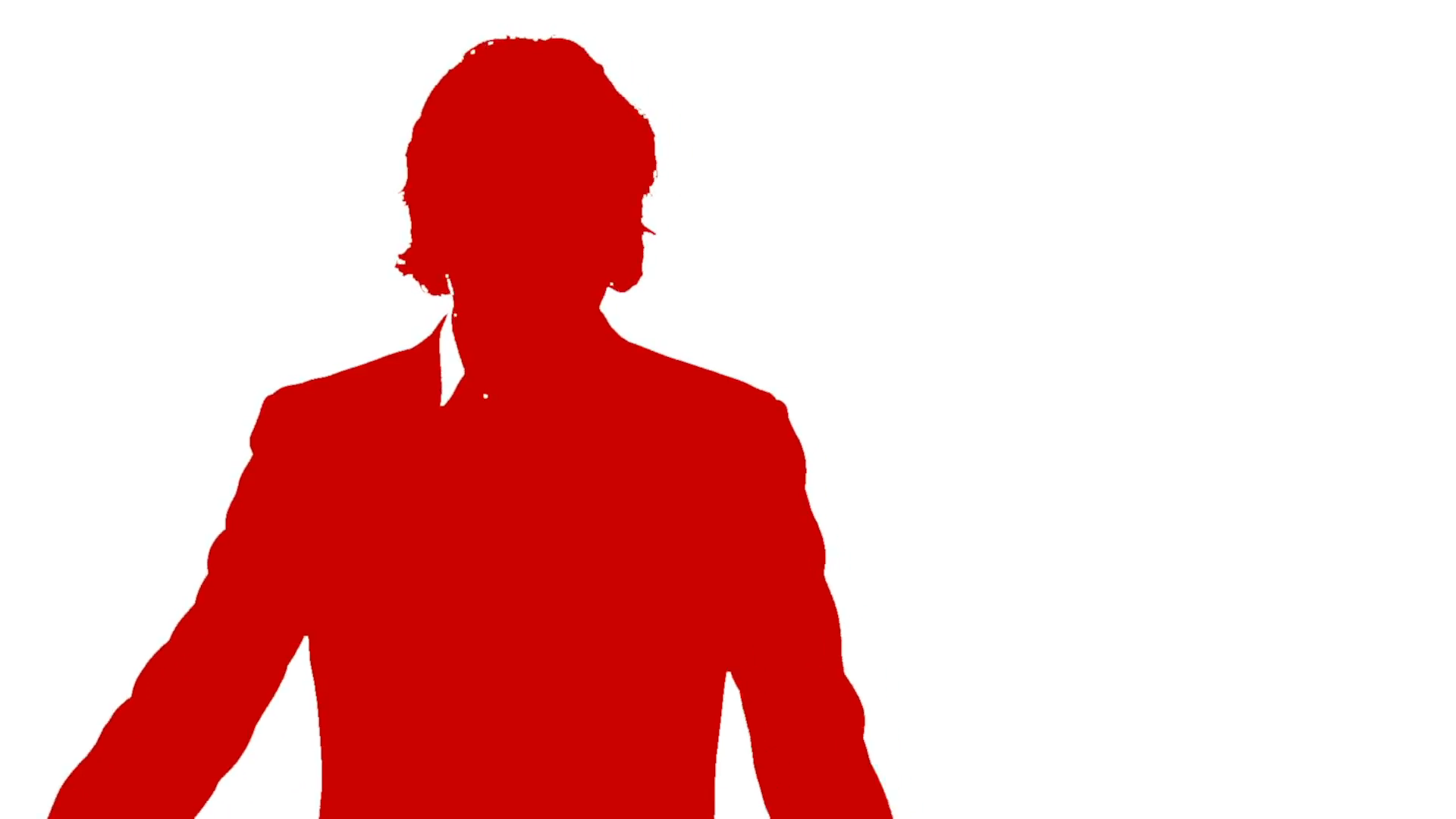 1920x1080 Silhouette Of Man Committing Suicide In Red Motion Background