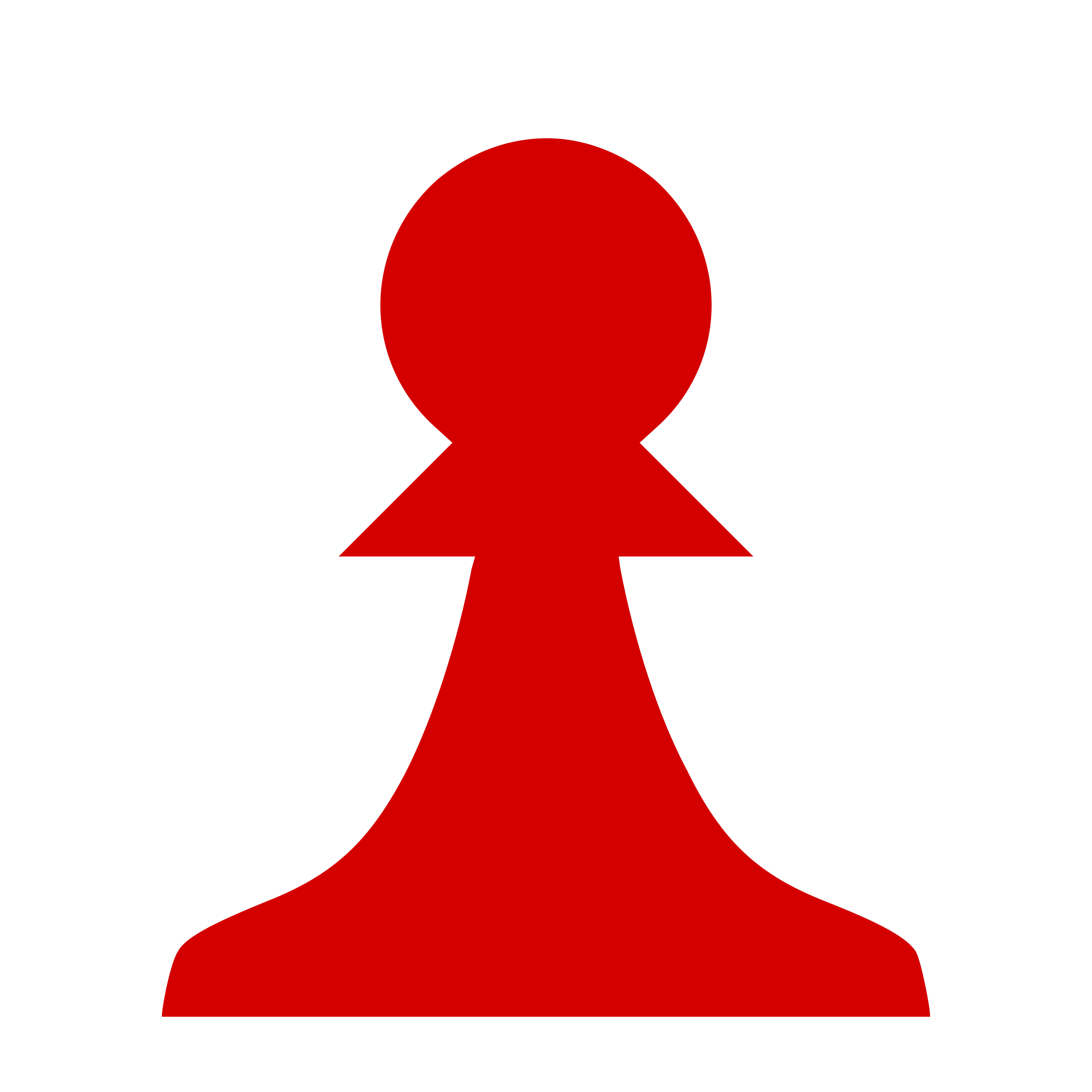 2400x2400 Chess Piece Silhouette