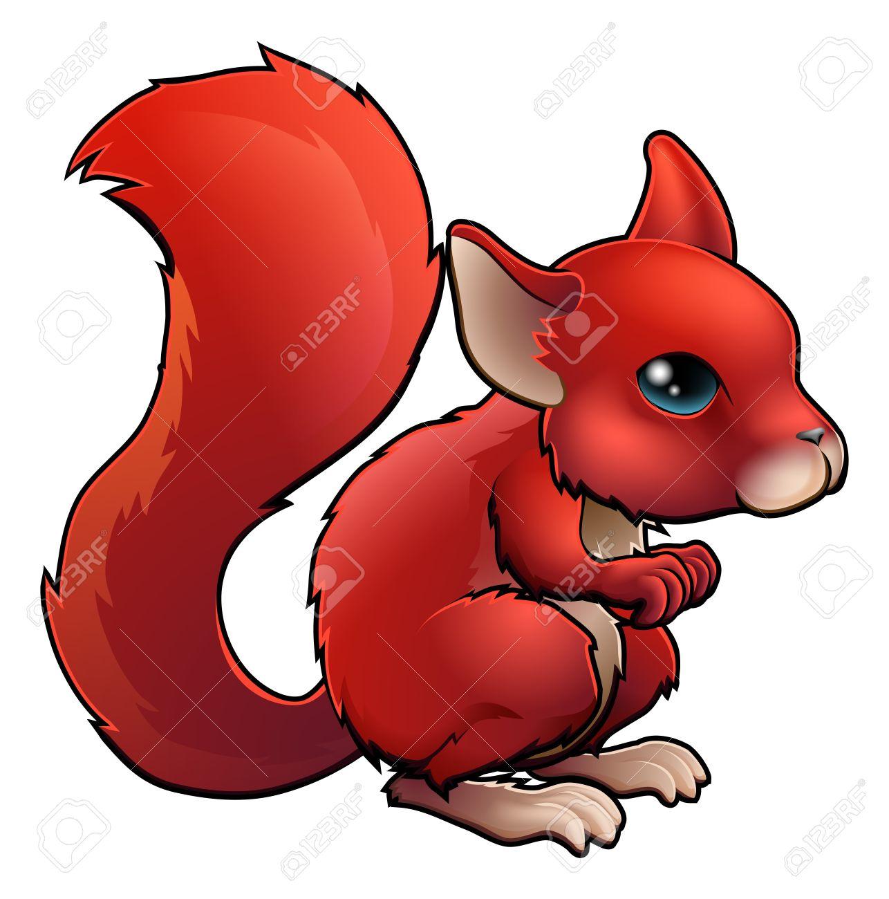 1286x1300 Red Squirrel Clipart Cartoon