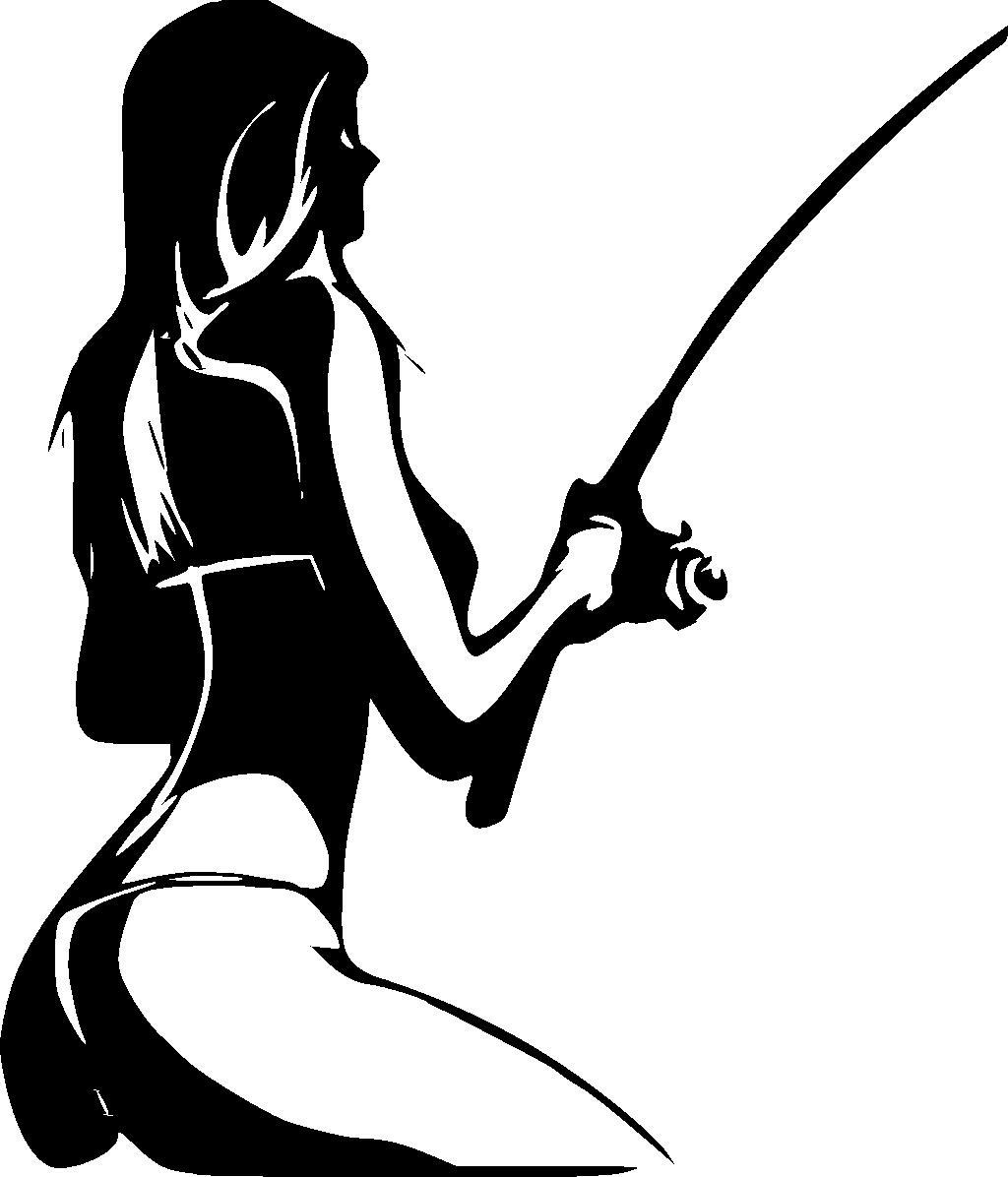 1024x1196 Hot Girl Fishing Decal Bizzytop Apparel Clothing For Fishing