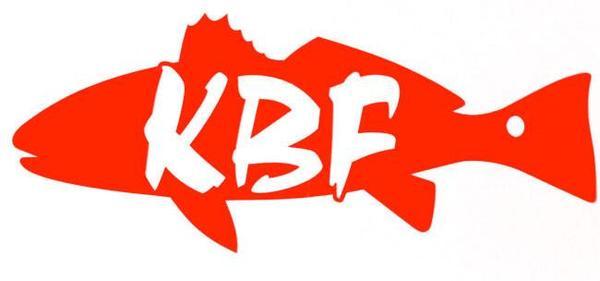 600x281 Kbf 5 Redfish Vinyl Decal
