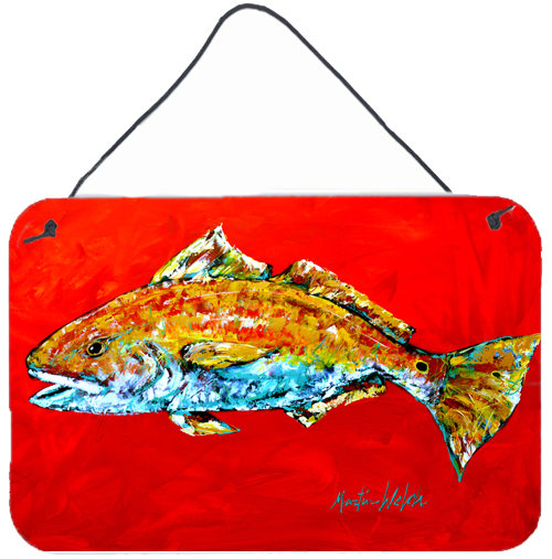 500x507 Caroline's Treasures Fish Red Fish Red Head By Martin Welch
