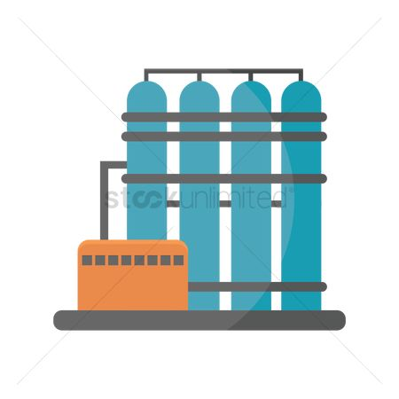 450x450 Free Oil Refinery Silhouette Stock Vectors Stockunlimited