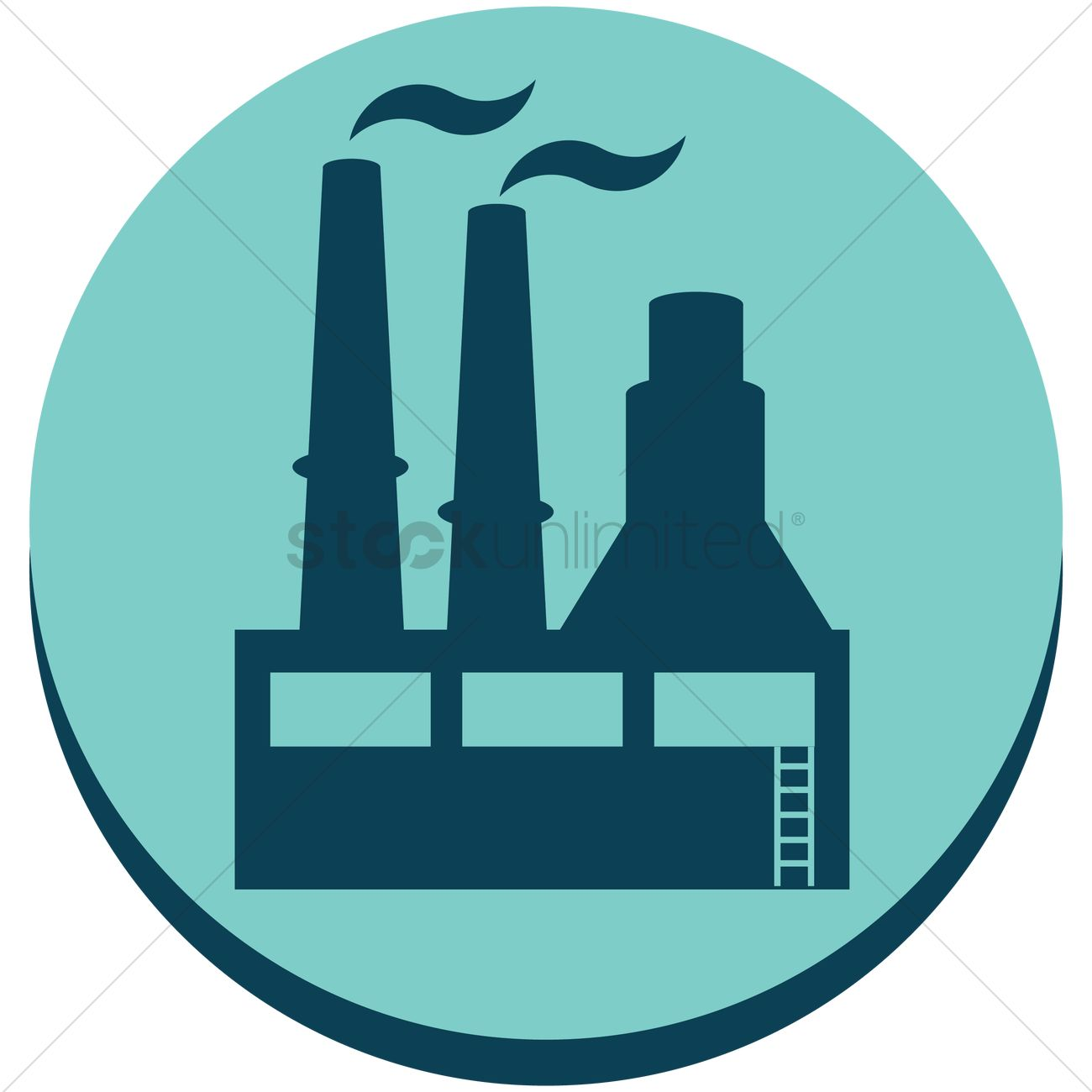 1300x1300 Oil Refinery Factory Vector Image