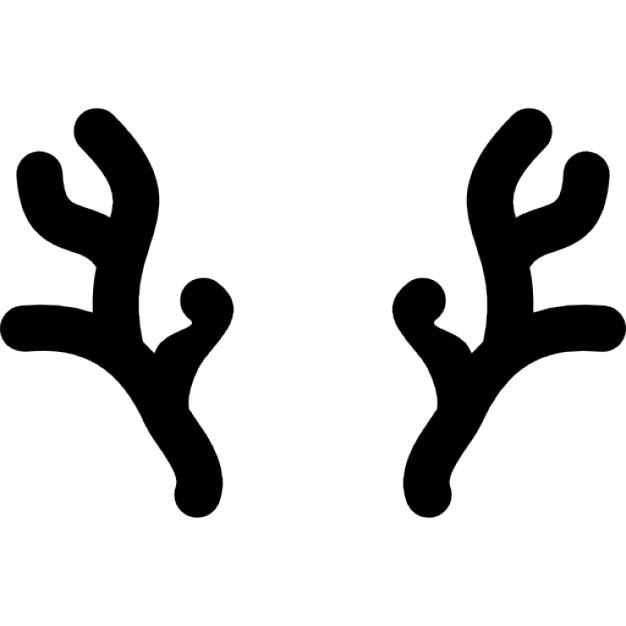 626x626 Horns Of Christmas Reindeer Icons Free Download