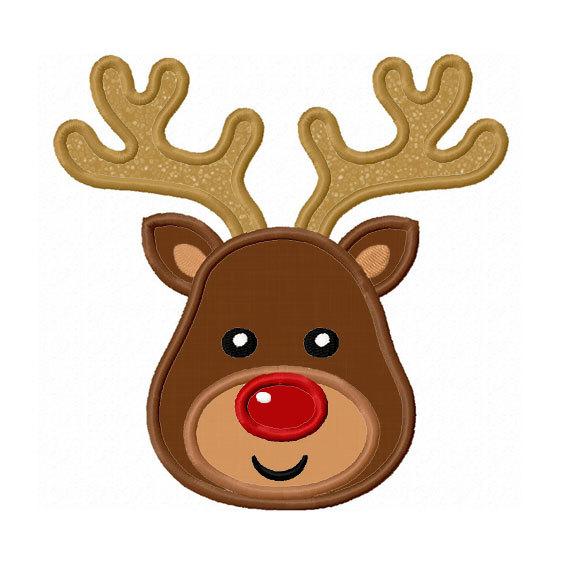 564x570 Reindeer Head Clipart 101 Clip Art
