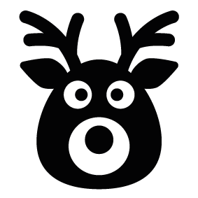 283x283 Reindeer Silhouettes Silhouettes Of Reindeer Free