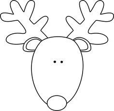 getdrawings.com/img/reindeer-head-silhouette-print...