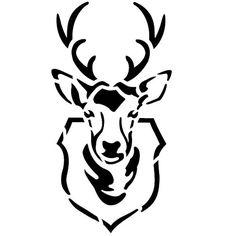 236x236 Deer Hunting Logos Deer Head Silhouette Logos