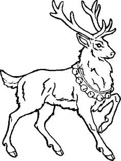 236x315 Flying Reindeer Silhouette Clipart