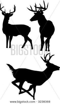 236x406 Deer Stencil
