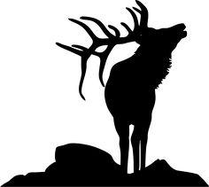 236x211 Bear Silhouette Stencil