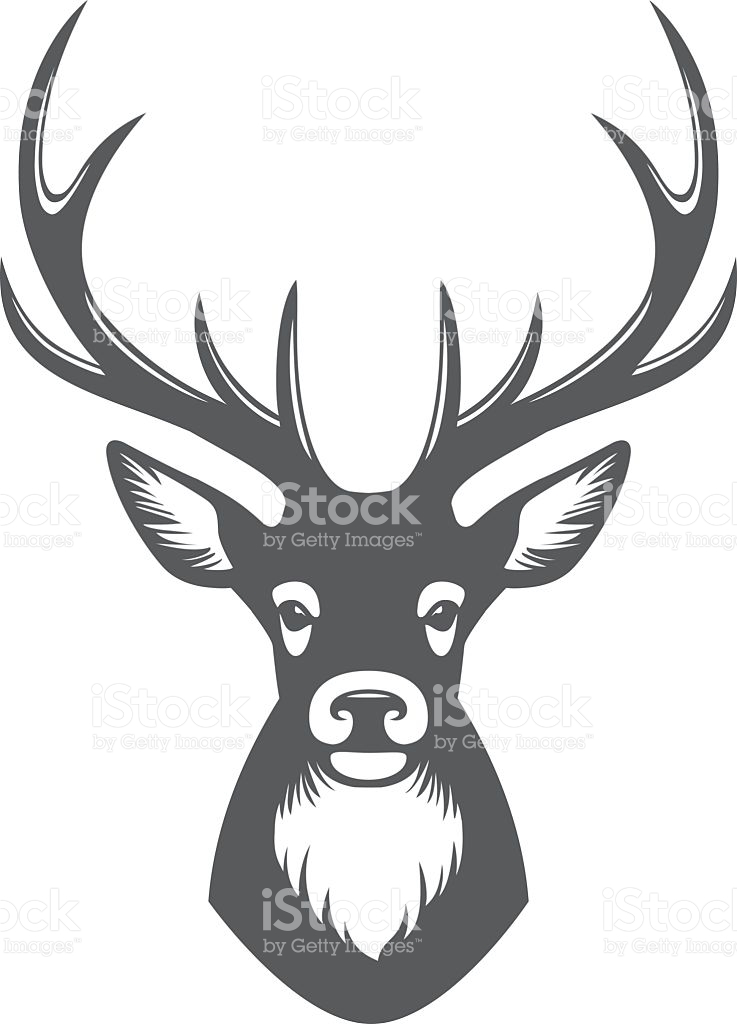737x1024 Stag Clipart Reindeer Head