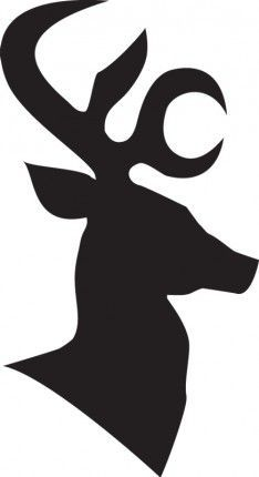 234x430 Reindeer Profile Images All Stencil Designs And Logo Are