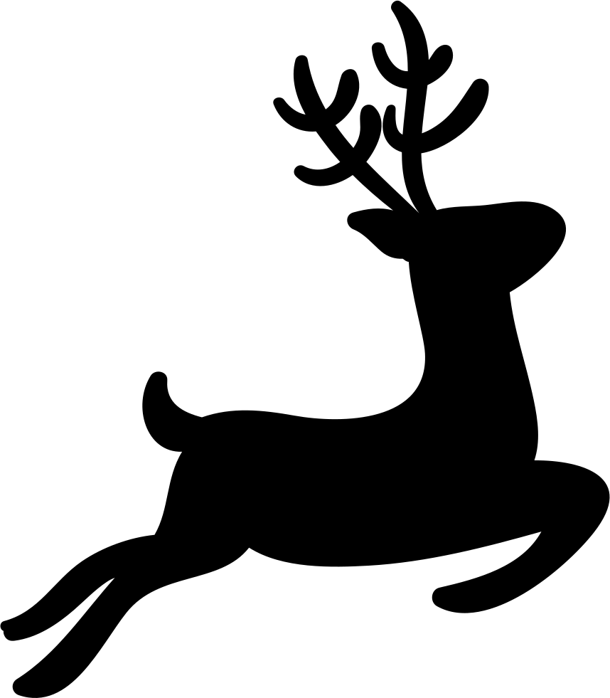 858x981 Reindeer Svg Png Icon Free Download ( 343373)