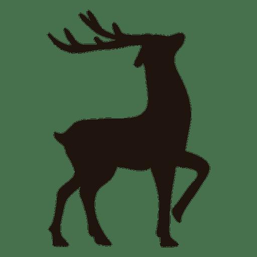 512x512 Reindeer Silhouette Standing 13