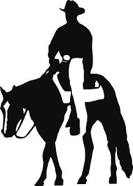 190x266 Reining Horse Silhouette Clip Art Clipart Flying Dirt Designs