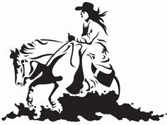 236x177 This Reining Horse Silhouette Measures Approx. 45 X 27 Inches. It