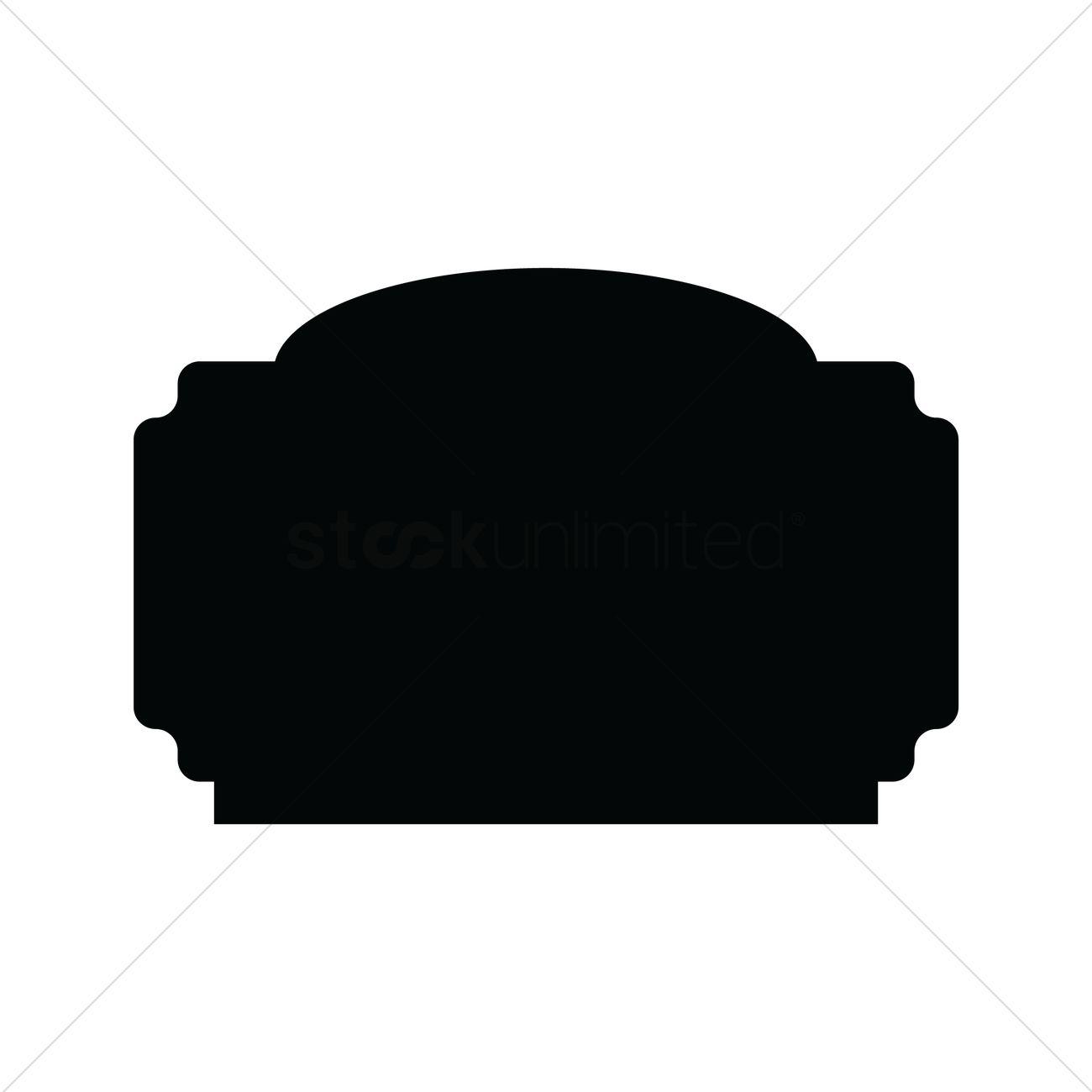 1300x1300 Retro Silhouette Label Vector Image