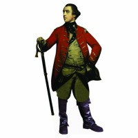 200x200 Revolutionary War Heroes Cardboard Cutouts