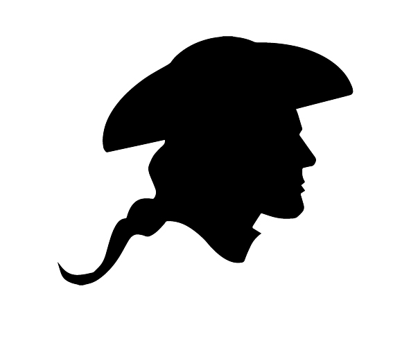 593x508 Revolutionary War Silhouette