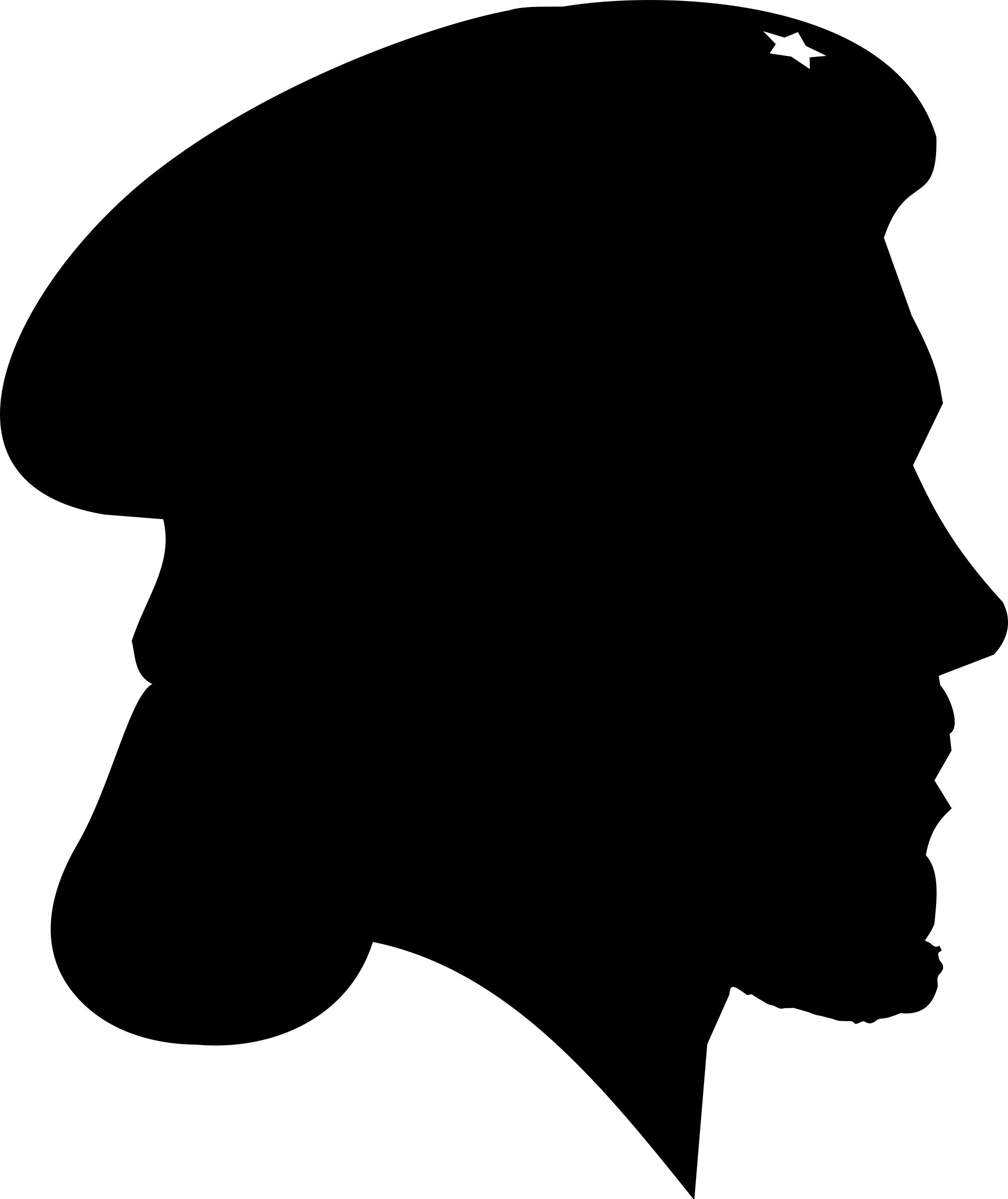 2019x2400 Us Revolutionary War Soldier Silhouette Icons Png