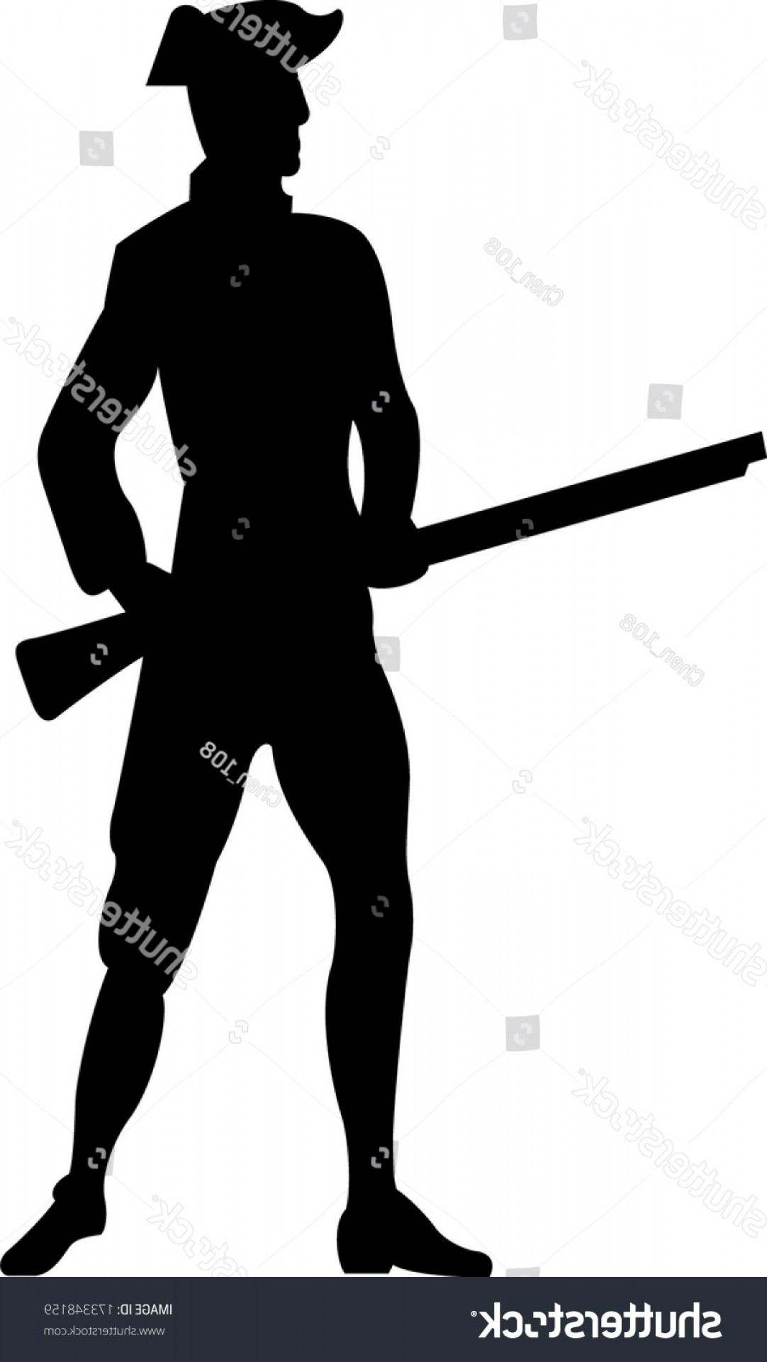 1082x1920 American Revolutionary War Soldier Silhouette Sohadacouri