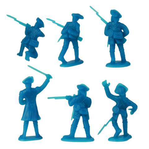 480x480 Bmc Revolutionary War Plastic Army Men 34pc Colonial Soldier