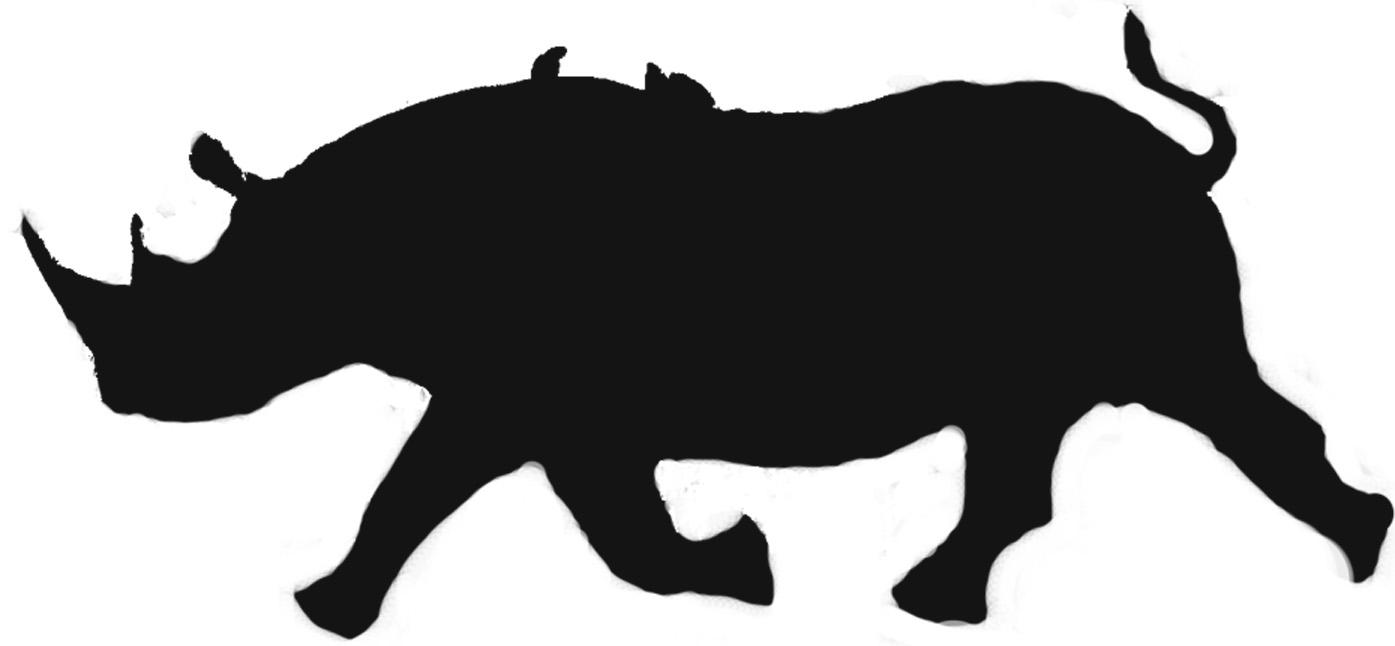 1395x646 Footprint Clipart Rhino